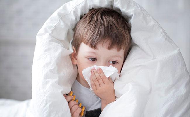 Аллергия на пыль у ребенка