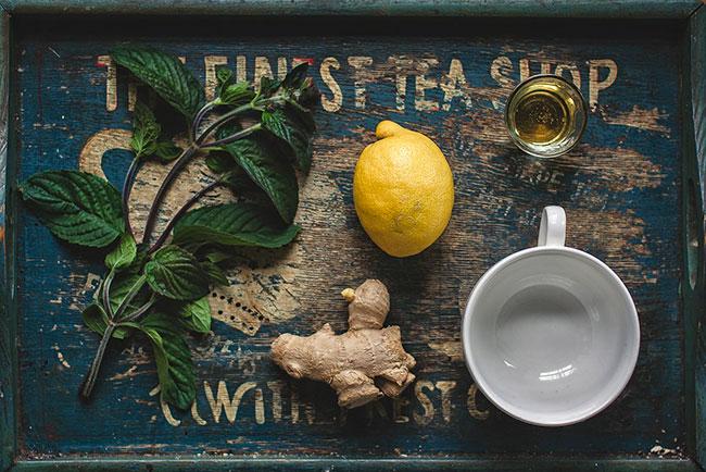 Лимон и имбирь от тошноты